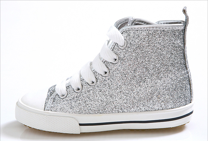 Sparkly High Tops Shoes