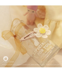 Baby Cotton Flower Pin