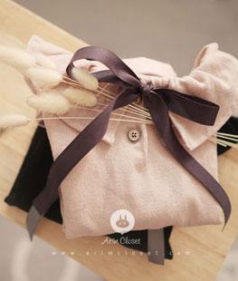 Black Or Pink Baby Shirring T