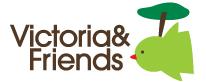 Victoria & Friends logo