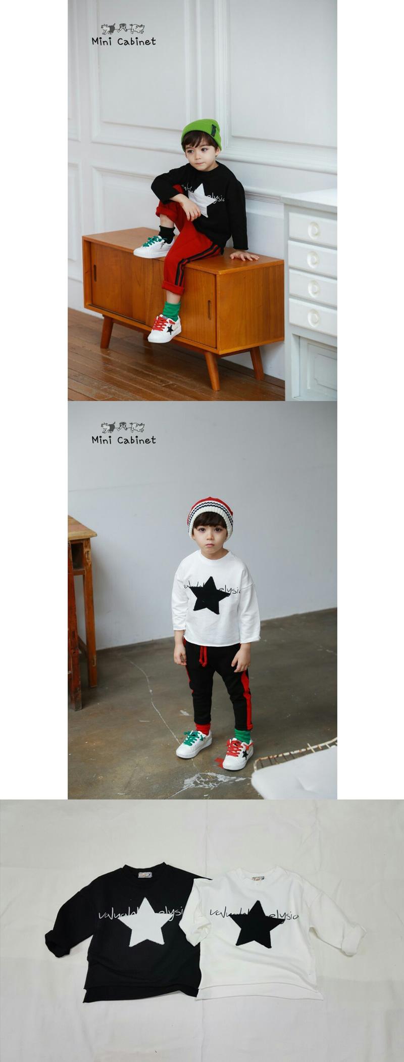 MINI CABINET - Korean Children Fashion - #Kfashion4kids - Star T
