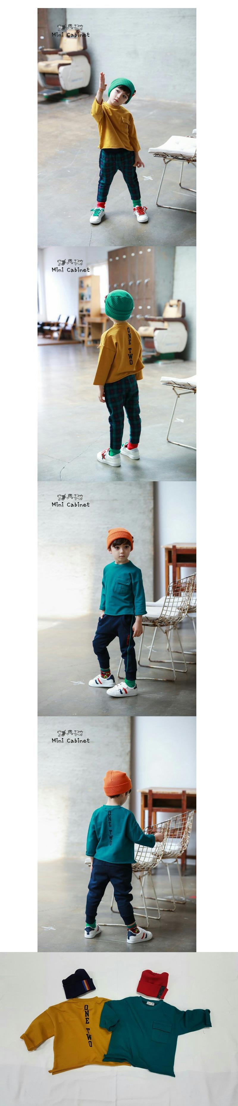 MINI CABINET - Korean Children Fashion - #Kfashion4kids - Pocket T