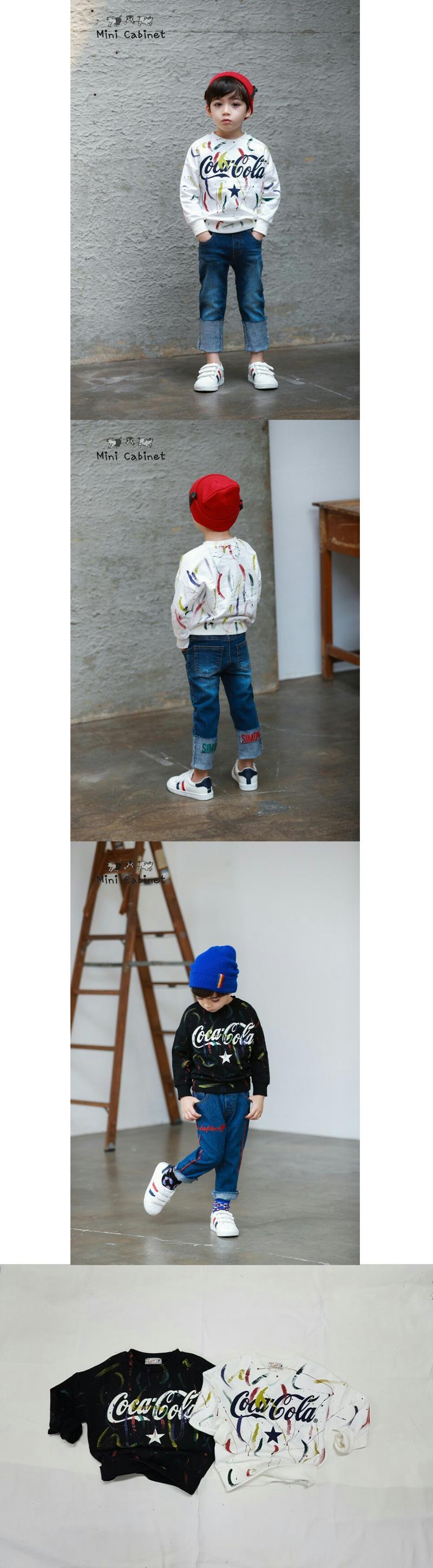 MINI CABINET - Korean Children Fashion - #Kfashion4kids - Hand Painting T