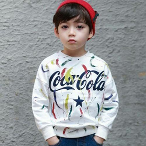 MINI CABINET - BRAND - Korean Children Fashion - #Kfashion4kids - Hand Painting T