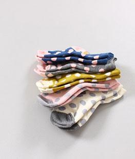 Dot Fong Socks [set of 5]