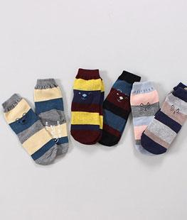 M Emoticons Socks [set of 5]