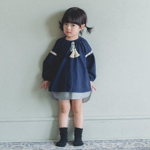 WANDOOKONG - BRAND - Korean Children Fashion - #Kfashion4kids - Lien Balloon Blouse
