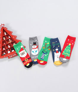 Christmas Socks [set of 5]