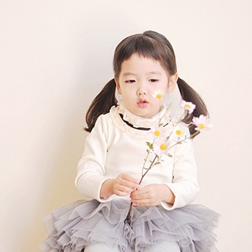 WANDOOKONG - BRAND - Korean Children Fashion - #Kfashion4kids - May Frill Polar Tee