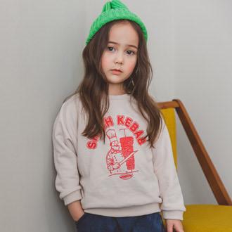 SEWING-B - BRAND - Korean Children Fashion - #Kfashion4kids - Kebab MtoM T
