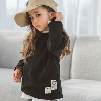 SEWING-B - BRAND - Korean Children Fashion - #Kfashion4kids - Chic T-shirt