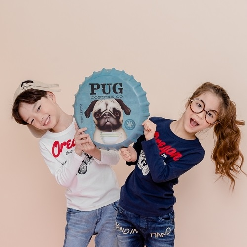 APPLE SMILE - BRAND - Korean Children Fashion - #Kfashion4kids - Car Tee