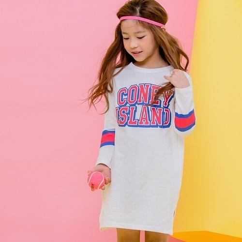 APPLE SMILE - BRAND - Korean Children Fashion - #Kfashion4kids - Coney Dress
