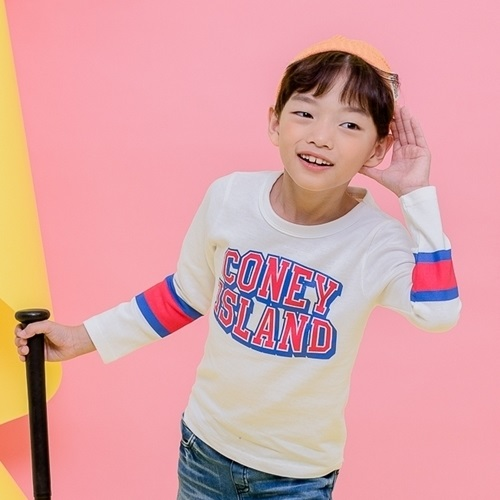 APPLE SMILE - BRAND - Korean Children Fashion - #Kfashion4kids - Coney Tee