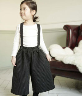 Shoulder Strap Tong Pants