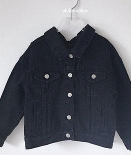Black Bean Loose Jacket