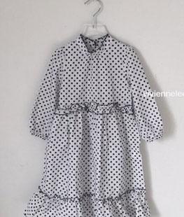 Little Dot Long Dress