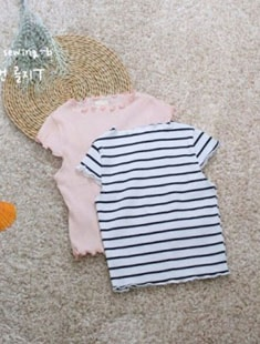 SEWING-B - BRAND - Korean Children Fashion - #Kfashion4kids - Hepburn Golgi Tee