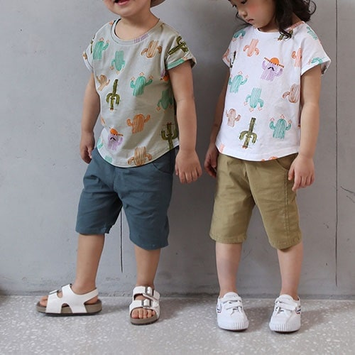 BANILLA STORY - BRAND - Korean Children Fashion - #Kfashion4kids - Linen Baggy Pants