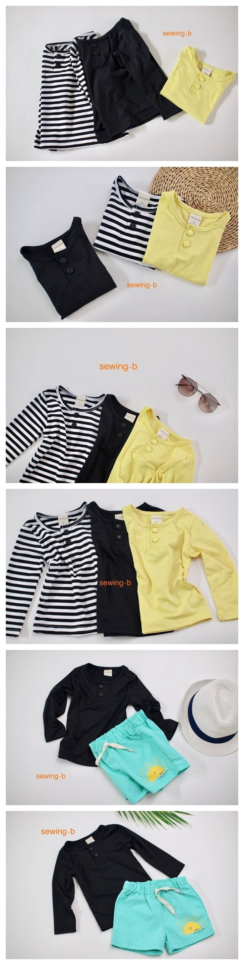 SEWING-B - Korean Children Fashion - #Kfashion4kids - Single Rashguard Pants