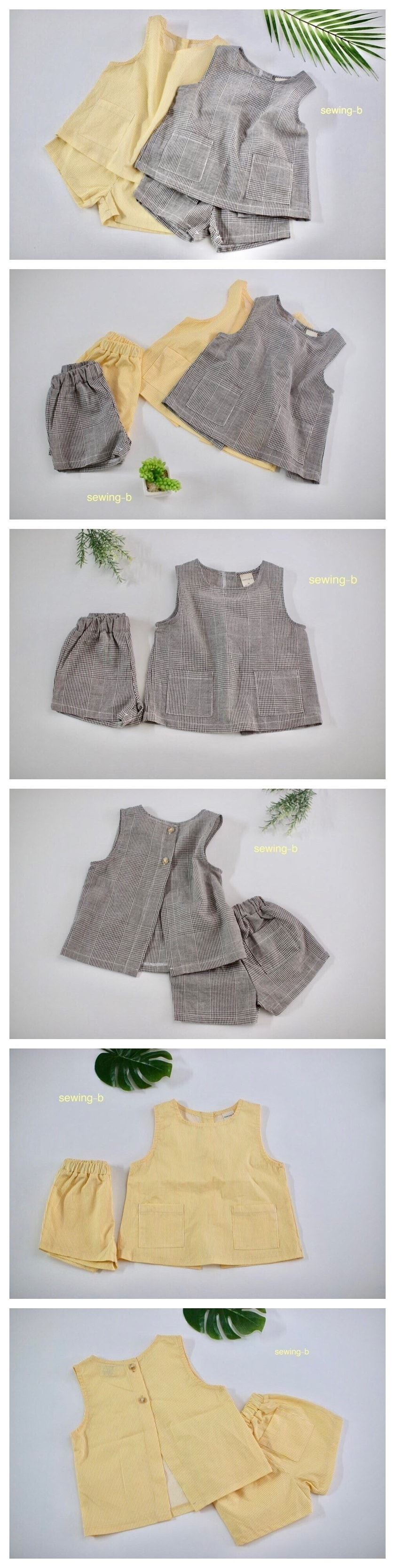 SEWING-B - Korean Children Fashion - #Kfashion4kids - Joy Set