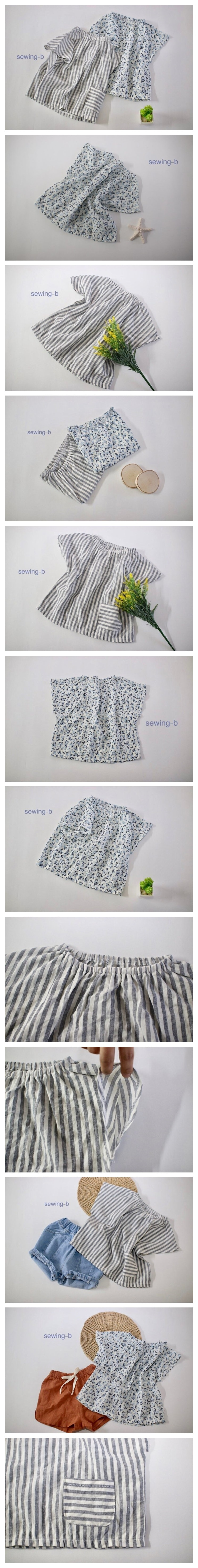 SEWING-B - Korean Children Fashion - #Kfashion4kids - Carrot Blouse