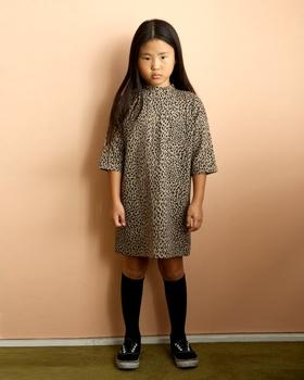 JENNY BASIC - BRAND - Korean Children Fashion - #Kfashion4kids - Leopard Dress
