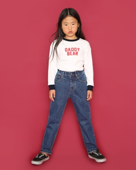 JENNY BASIC - BRAND - Korean Children Fashion - #Kfashion4kids - 810 Denim Pants