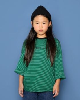 JENNY BASIC - BRAND - Korean Children Fashion - #Kfashion4kids - 87 Stripe T-shirt