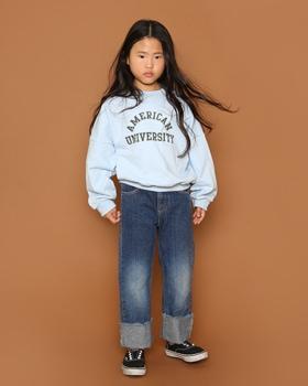 JENNY BASIC - BRAND - Korean Children Fashion - #Kfashion4kids - Double American Sweat Shirt