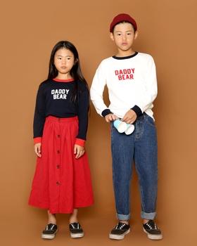 JENNY BASIC - BRAND - Korean Children Fashion - #Kfashion4kids - Daddy Bear T-shirt