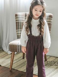 TUTTO BENE - BRAND - Korean Children Fashion - #Kfashion4kids - Button Overall