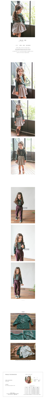 TUTTO BENE - Korean Children Fashion - #Kfashion4kids - Boxy Tee - 2
