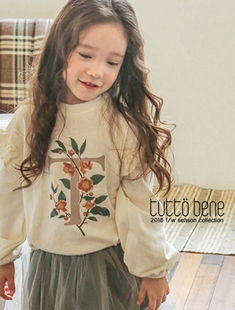 TUTTO BENE - BRAND - Korean Children Fashion - #Kfashion4kids - Honeybee MtoM Tee