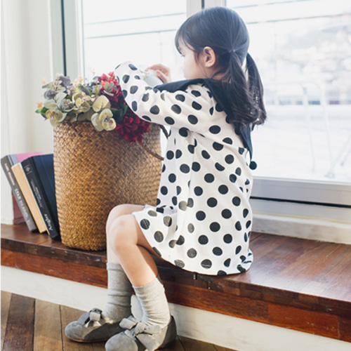 WANDOOKONG - BRAND - Korean Children Fashion - #Kfashion4kids - Ozma Dot Dress