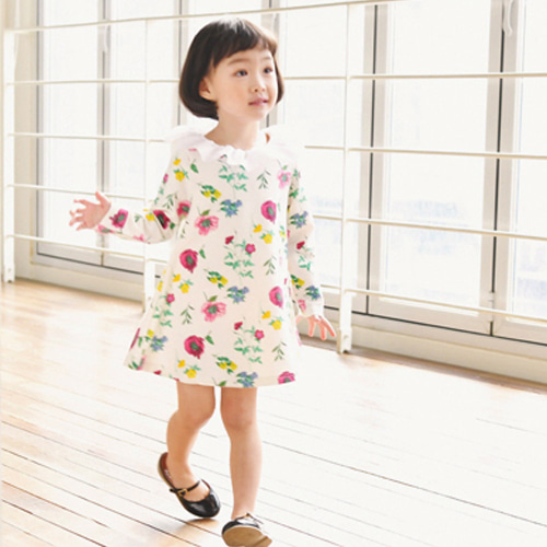 WANDOOKONG - BRAND - Korean Children Fashion - #Kfashion4kids - Iollin Flower Dress