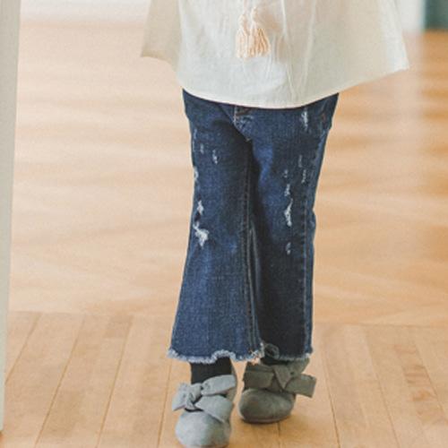 WANDOOKONG - BRAND - Korean Children Fashion - #Kfashion4kids - Lucy Half Trumpet Jeans
