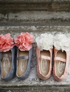 BIMBO BIMBA - BRAND - Korean Children Fashion - #Kfashion4kids - Flower Flats