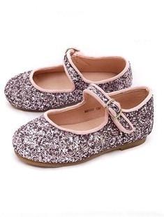 BIMBO BIMBA - BRAND - Korean Children Fashion - #Kfashion4kids - Glitter Mary Jane Flats