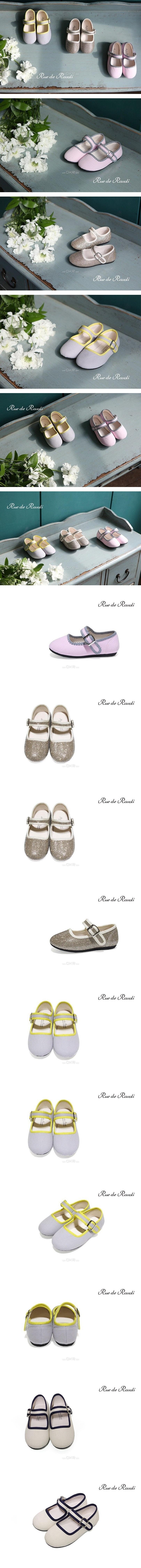BIMBO BIMBA - Korean Children Fashion - #Kfashion4kids - Bombom Merry Jane Flats