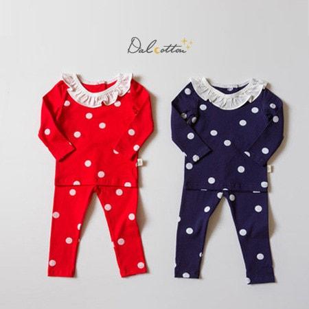 DAL COTTON - BRAND - Korean Children Fashion - #Kfashion4kids - Dot By Me Loungewear