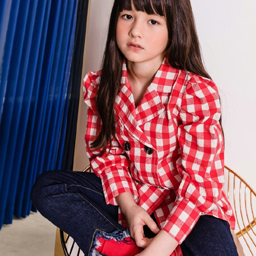 LE BONBON - BRAND - Korean Children Fashion - #Kfashion4kids - Puff Double Shirt