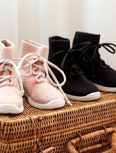 BABYZZAM - BRAND - Korean Children Fashion - #Kfashion4kids - Ribbon Runner Sneakers