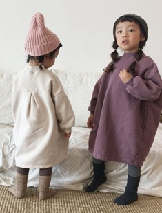CONCOCTER - BRAND - Korean Children Fashion - #Kfashion4kids - Love Wrinkle Dress