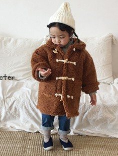 CONCOCTER - BRAND - Korean Children Fashion - #Kfashion4kids - Boom Boom Fleece Padding Coat