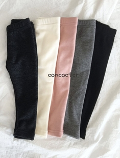 CONCOCTER - BRAND - Korean Children Fashion - #Kfashion4kids - Hobang Mink Leggings