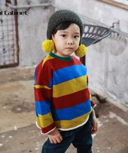 MINI CABINET - BRAND - Korean Children Fashion - #Kfashion4kids - Rainbow T