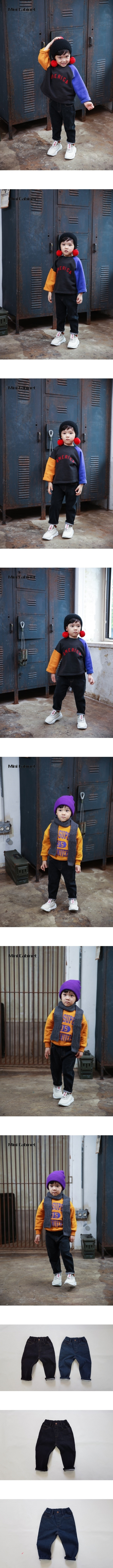 MINI CABINET - Korean Children Fashion - #Kfashion4kids - Apollo Denim Pants