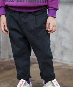 MINI CABINET - BRAND - Korean Children Fashion - #Kfashion4kids - Pleats Cotton Pants