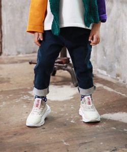 MINI CABINET - BRAND - Korean Children Fashion - #Kfashion4kids - Pleats Denim Pants